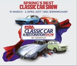 Restoration Show April - Car show banners